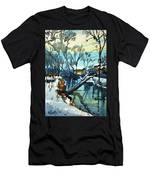 Watercolor3694 Men's T-Shirt (Athletic Fit)