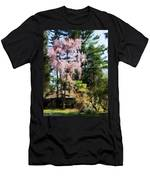 Weeping Cherry Men's T-Shirt (Athletic Fit)