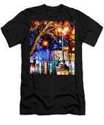 Winter Rain Men's T-Shirt (Athletic Fit)