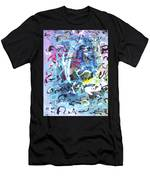 Abstract Calligraphy Men's T-Shirt (Athletic Fit)