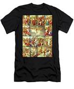 14 Stations Of The Cross Men's T-Shirt (Athletic Fit)
