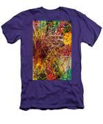 16-10 String Burst Men's T-Shirt (Athletic Fit)
