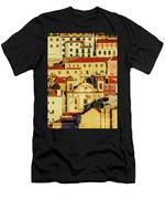 Lisbon, Portugal Men's T-Shirt (Athletic Fit)