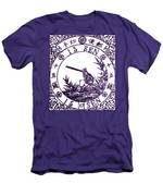 1875 Japanese Wagtail Stamp Men's T-Shirt (Athletic Fit)
