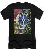 1901 Antique Uab Gothic Stained Glass Window Men's T-Shirt (Athletic Fit)