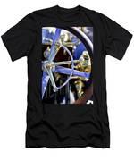 1910 Pope Hartford T Steering Wheel Men's T-Shirt (Athletic Fit)