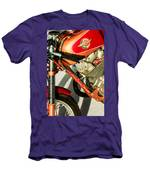 1964 Ducati 250cc F3 Corsa Motorcycle -2727c Men's T-Shirt (Athletic Fit)