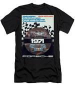 1971 Porsche World Champion Poster Men's T-Shirt (Athletic Fit)