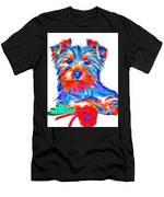 Art Dogportrait Men's T-Shirt (Athletic Fit)