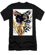 Butterfly Sketch Men's T-Shirt (Athletic Fit)