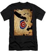 Chicago Cubs Baseball Team Vintage Card Men's T-Shirt (Athletic Fit)