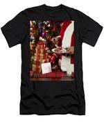 Cookies And Milk For Santa Men's T-Shirt (Athletic Fit)