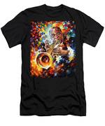 Louis Armstrong . Men's T-Shirt (Athletic Fit)