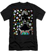 Nuer Lady With Pipe - South Sudan Men's T-Shirt (Athletic Fit)