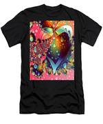 Raining In My Heart Men's T-Shirt (Athletic Fit)