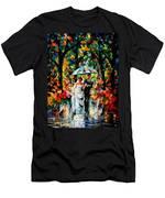 Wedding Under The Rain Men's T-Shirt (Athletic Fit)