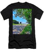 Background. Men's T-Shirt (Athletic Fit)