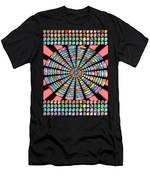 Novino Sale Fineart Chakra Mandala Round Circle Inspirational Healing Art At Fineartamerica.com By N Men's T-Shirt (Athletic Fit)