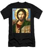 Jesus Christ Savior  Men's T-Shirt (Athletic Fit)