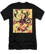 3d Color Dragon Men's T-Shirt (Athletic Fit)