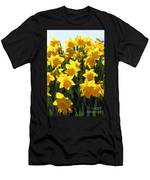 Daffodils In The Sunshine Men's T-Shirt (Athletic Fit)