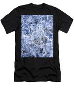 Nashville Tennessee City Map Men's T-Shirt (Athletic Fit)