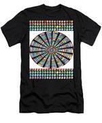 Novino Sale Fineart Chakra Mandala Round Circle Inspirational Healing Art At Fineartamerica.com By N Men's T-Shirt (Athletic Fit)