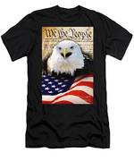 We The People. Men's T-Shirt (Athletic Fit)