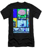 8292- Little Havana Mural Men's T-Shirt (Athletic Fit)