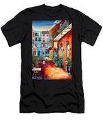 A French Quarter Evening Men's T-Shirt (Athletic Fit)