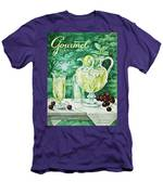 A Gourmet Cover Of Glassware Men's T-Shirt (Athletic Fit)