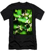 A Honeysuckle Painting Men's T-Shirt (Athletic Fit)