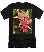 A Living Orchid Looks Like Animal Print Doesnt It So Beautiful Men's T-Shirt (Athletic Fit)