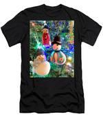 A Trio Of Snowmen Men's T-Shirt (Athletic Fit)