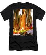 Abstract 6535 Men's T-Shirt (Athletic Fit)