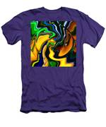 Abstract 7-10-09 Men's T-Shirt (Athletic Fit)