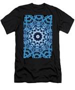 Abstract Blue 16 Men's T-Shirt (Athletic Fit)