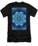 Abstract Blue 20 Men's T-Shirt (Athletic Fit)