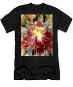 Abstract Flower Men's T-Shirt (Athletic Fit) by Denise Tomasura