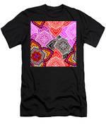 Abstract Mandala Floral Design Men's T-Shirt (Athletic Fit)