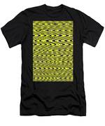 Abstract Metal Plate Men's T-Shirt (Athletic Fit)