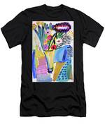 Abstract Still Life With Flowers Men's T-Shirt (Athletic Fit)