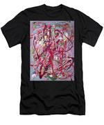 Abstraction 47 Men's T-Shirt (Athletic Fit)