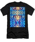 Acrylic On Ali Men's T-Shirt (Athletic Fit)