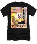 Afro Collage - F Men's T-Shirt (Athletic Fit)
