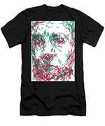 After Rembrandt - Self Portrait Men's T-Shirt (Athletic Fit)