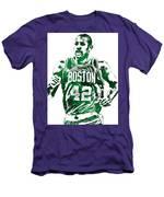 Al Horford Boston Celtics Pixel Art Men's T-Shirt (Athletic Fit)