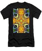 Altar Cross Tapestry Men's T-Shirt (Athletic Fit)