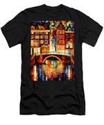 Amsterdam - Little Bridge Men's T-Shirt (Athletic Fit)