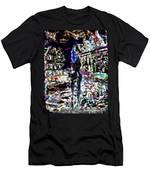 Amsterdam Nights Men's T-Shirt (Athletic Fit)